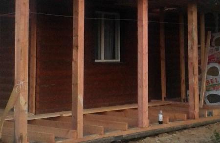 Построить веранду к деревянному дому своими руками фото 379
