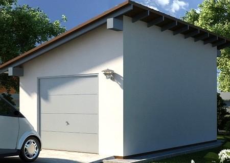 Пристроить гараж к дому из бруса