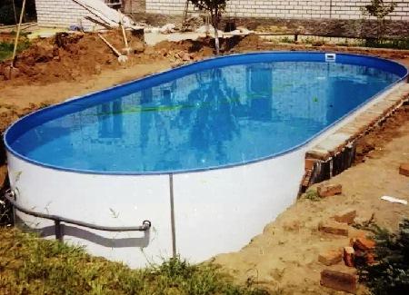 Как построить бассейн в бане своими руками