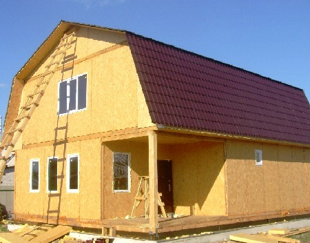 Как построить дом своими руками недорого Строительство и 90