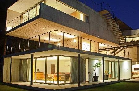 Как построить стеклянный дом
