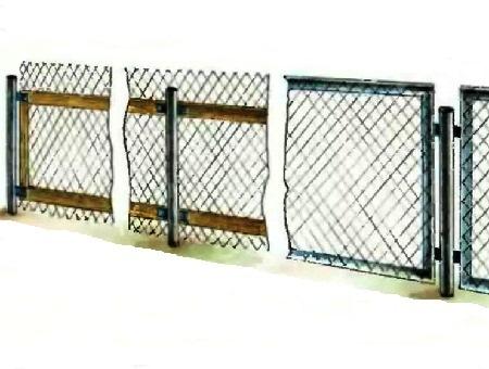 Как построить красивый забор своими руками 971