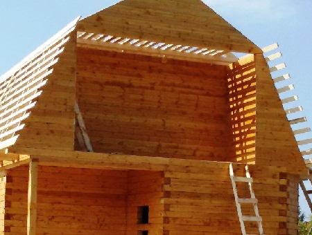 Балкон мансарды своими руками