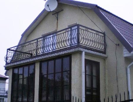Как сделать мансарду с балконом своими руками