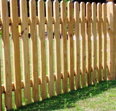 Как сделать забор в огород 307