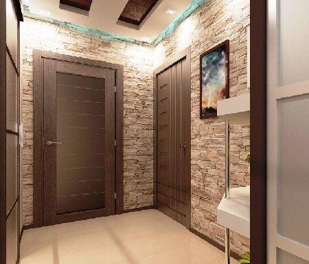Дизайн интерьер прихожей и коридора