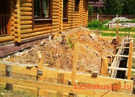 Пристройка к деревянному дому своими руками