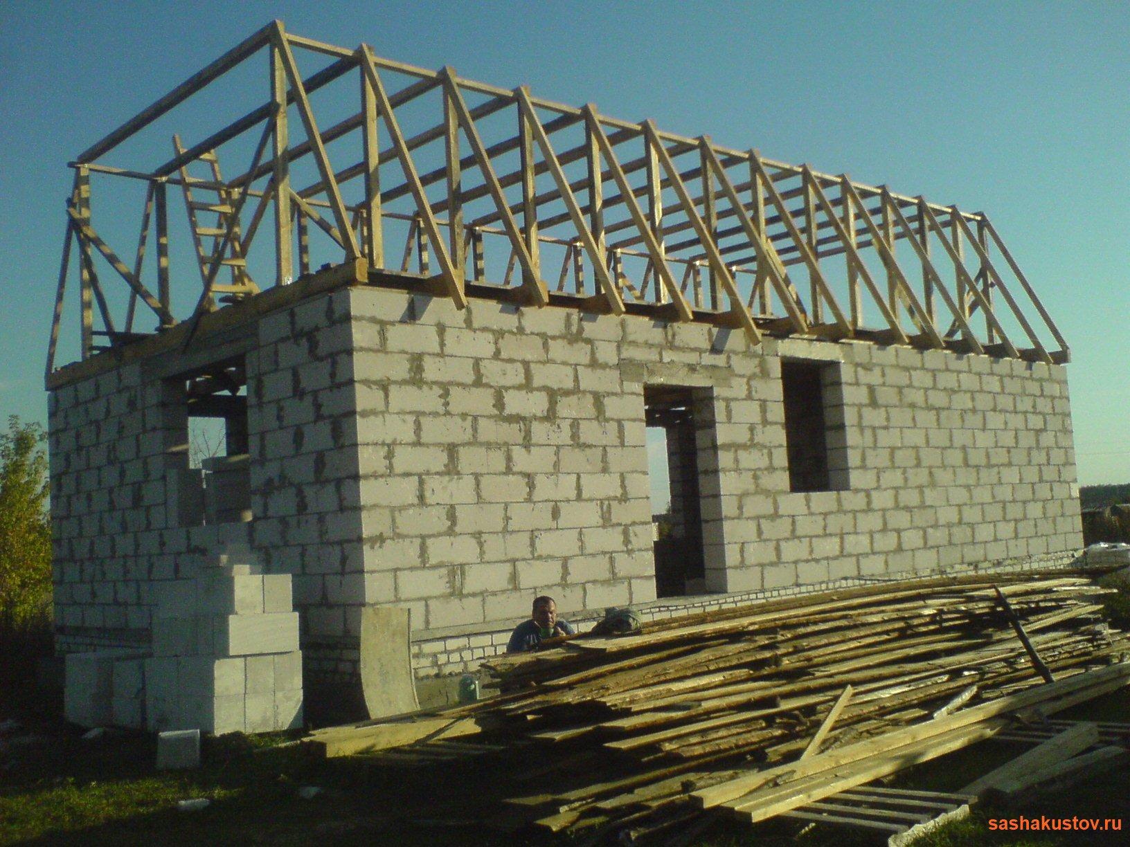Строительство каркасной мансарды своими руками 13