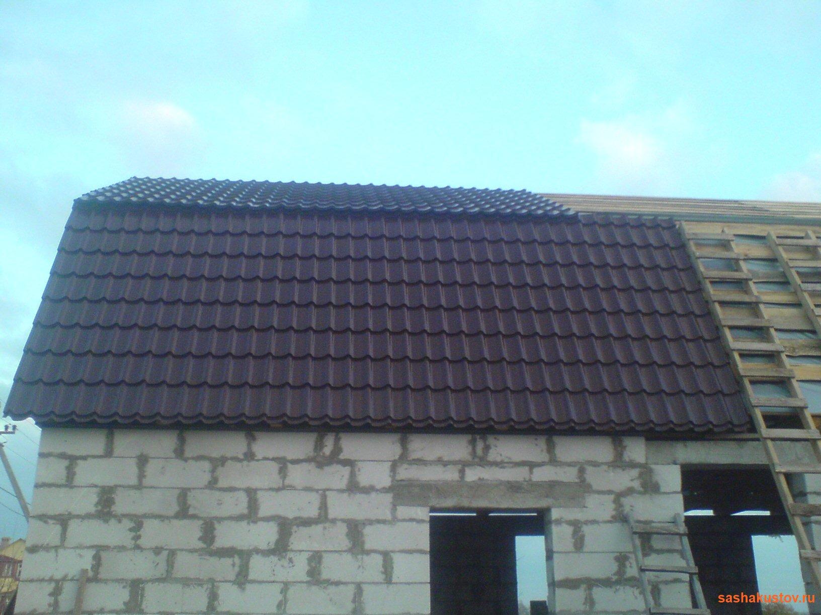 Как правильно покрасить крышу дома своими руками: красим 22