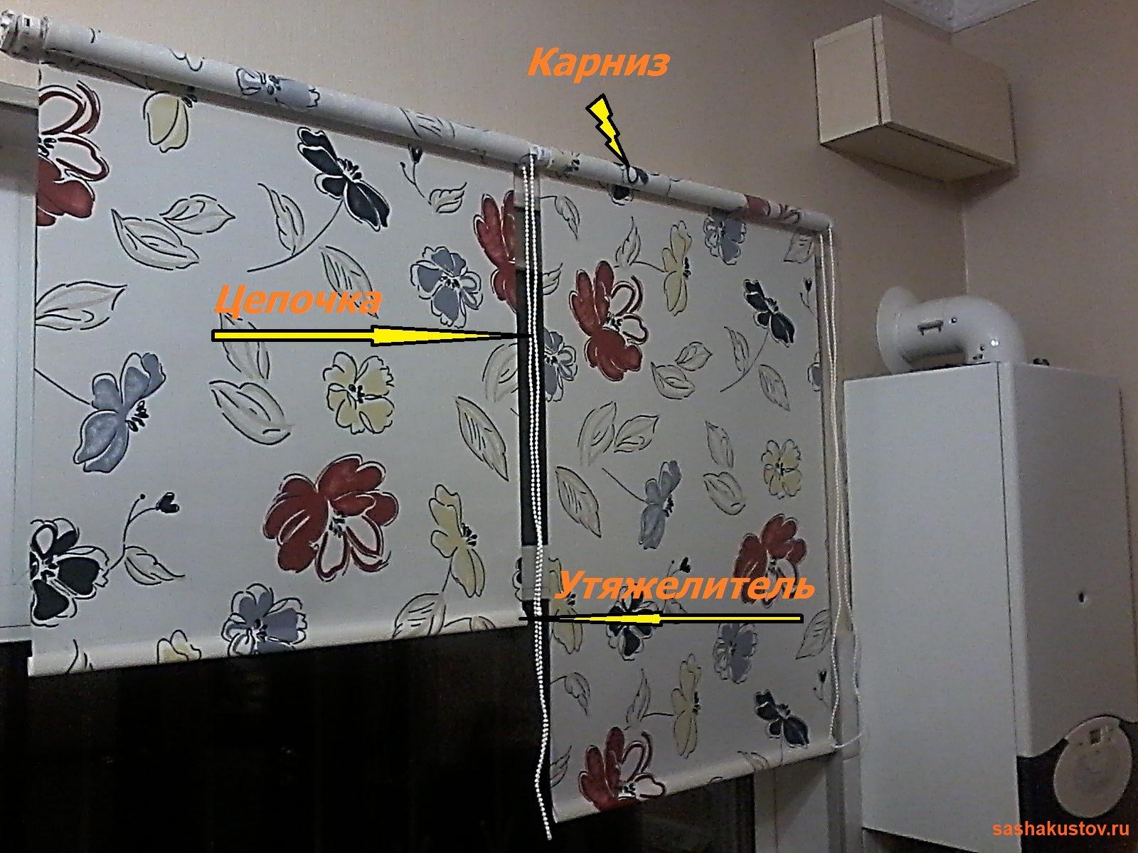 Как сделать рулонные шторы на окна в домашних условиях 54