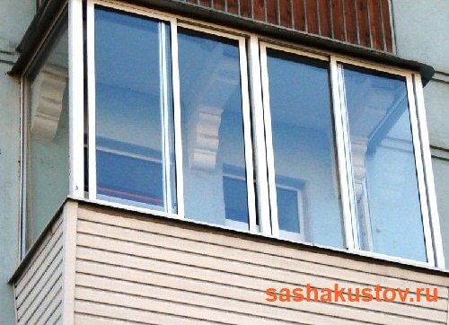 Виды и варианты остекления балконов: преимущества и недостат.