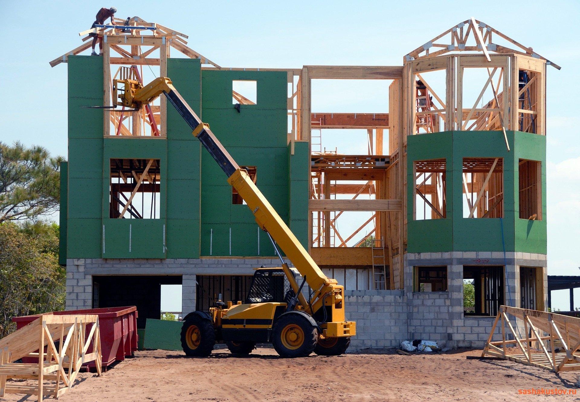 490Строительство дома своими руками крыши