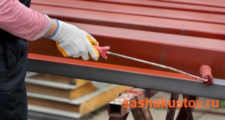 Подготовка металла к нанесению грунтовочного слоя перед покраской